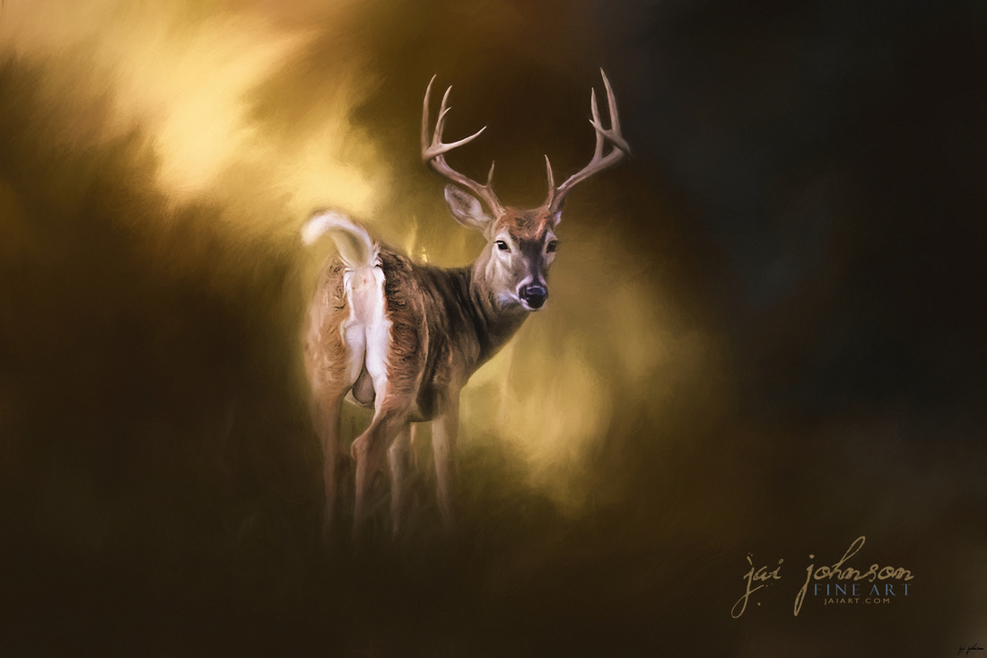 Nine Pointer - Wildlife Art