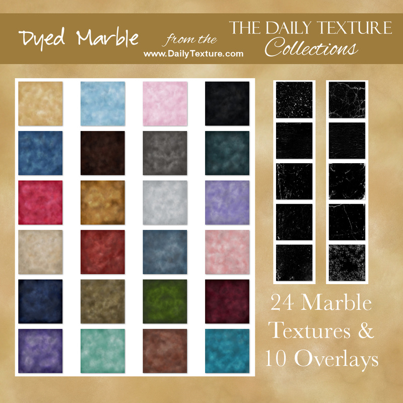 Dyed Marble Texture Collection
